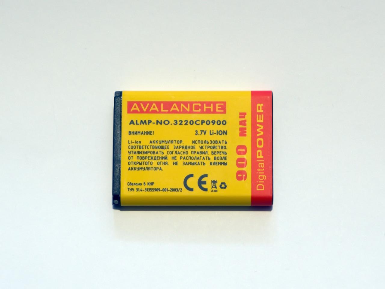 АКБ  Avalanche для Nokia 3220, 3230, 5140, 6020, 7260 (BL-5B) - 900 мАч