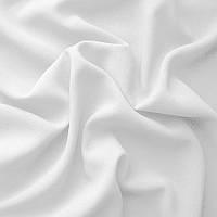 Ткань креп - шифон - цвет белый