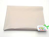 Хлопковая подкладная пеленка/клеенка пропитанная латексом (светло-серая)