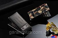 Телефон-раскладушка Land Rover F810 с металлическим корпусом черный (black), фото 1