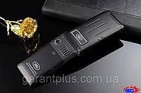 Телефон-раскладушка Land Rover F810 с металлическим корпусом черный-мат