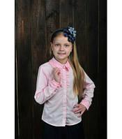 Детская школьная блуза в расцветках 2175