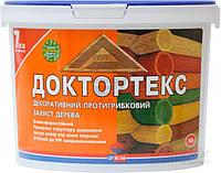 Деревозащитный антисептик ИРКОМ Доктортекс IP-013 (орех) 10л, фото 1