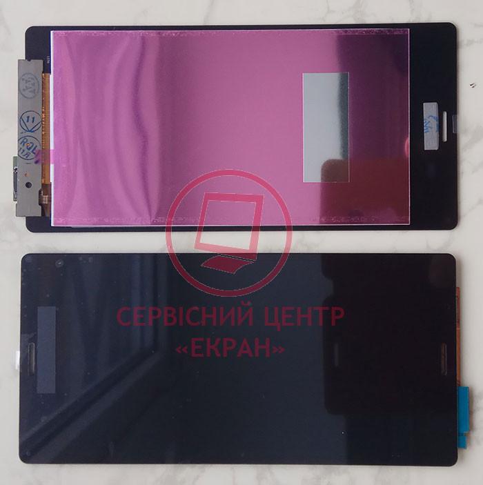 Sony Xperia Z3 D6603 D6633 дисплей в зборі з тачскріном модуль чорний