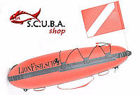Буй Торпеда для подводной охоты 75*16 см (модель TP – 170)