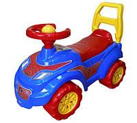Машинка толокар Спайдер. Детский транспорт, машина Спайдермен для детей 1, 2, 3 лет