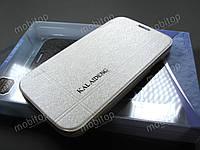 Чехол книжка Kalaideng Samsung Galaxy S4 i9500 (белый)