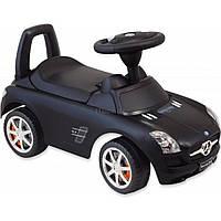 Чудомобиль Alexis-Babymix Z-332P Mercedes Black матовый (18034)