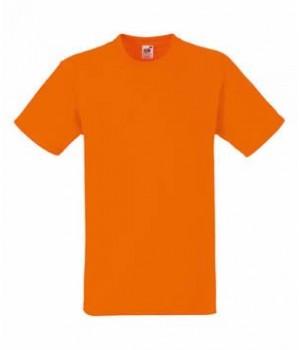 Мужская футболка плотная оранжевая 212-44