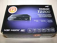 Romsat T2200 цифровой эфирный DVB-T2 ресивер