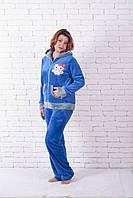 Пижама махровая совушка, фото 1
