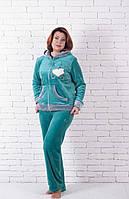 Пижама махровая мишка с сердечком, фото 1