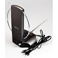Антенна комнатная COBRA 2009 для T2 тюнера (UHF/VHF/FM диапазон, с усилителем)