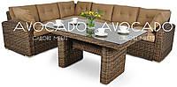 Комплект плетених меблів з ротангу MARINO DINE  207X265см