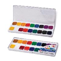 """Краски 18 цветов акварельные Классика """"Луч"""""""