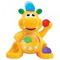 Развивающая игрушка Kiddieland Гиппопотам-жонглёр (49890)
