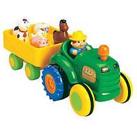 Развивающая игрушка Kiddieland Трактор с трейлером (24753)
