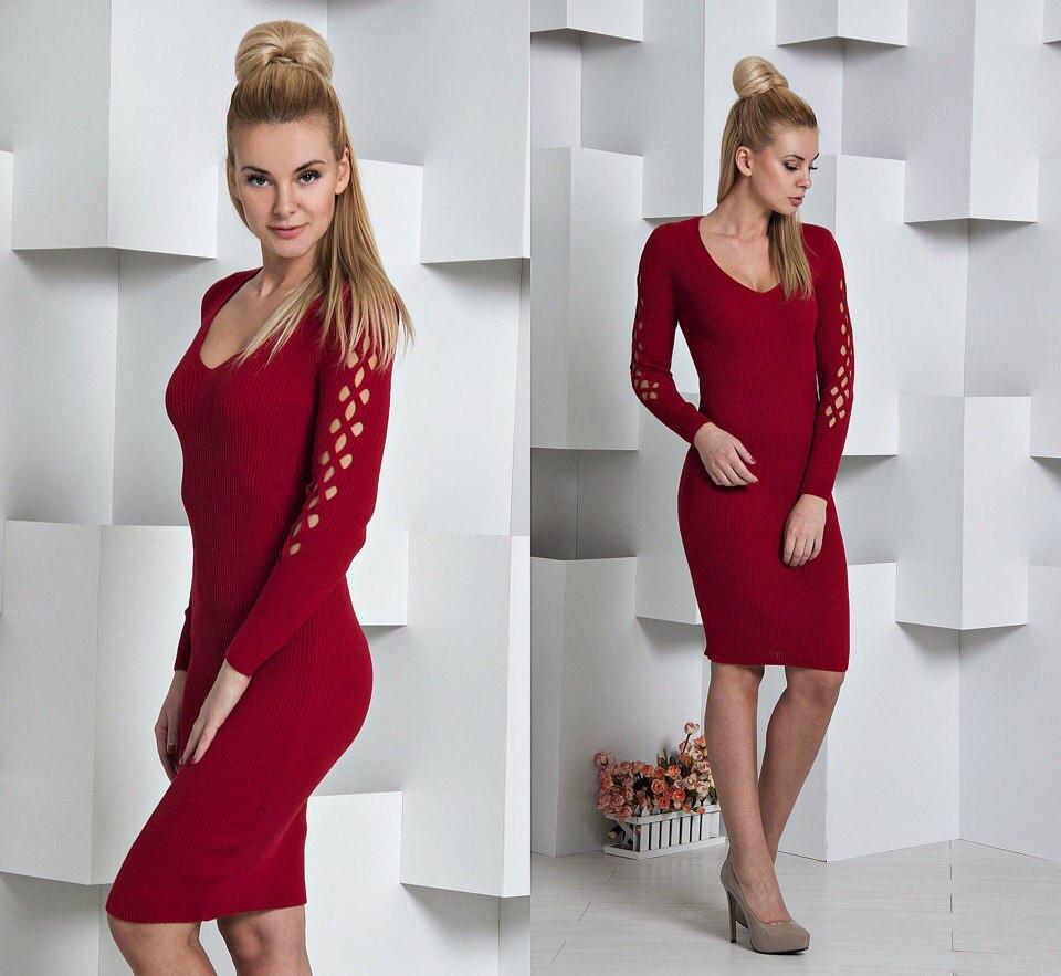 Купить Вязаное платье LD-239 Турцию оптом и в розницу в Харькове