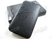 Кожаный чехол Samsung Galaxy Mega 6.3 i9200 (черный)