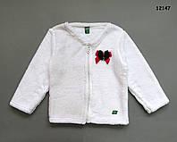 Махровая кофта для девочки. 4-5 лет, фото 1