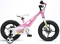 "Детский велосипед RoyalBaby 14"" Mgdino pink, Dragon Style"