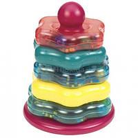 Развивающая игрушка Battat Цветная Пирамидка (BT2407Z)