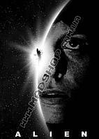 Картина 40х60 см Чужой Alien Героиня
