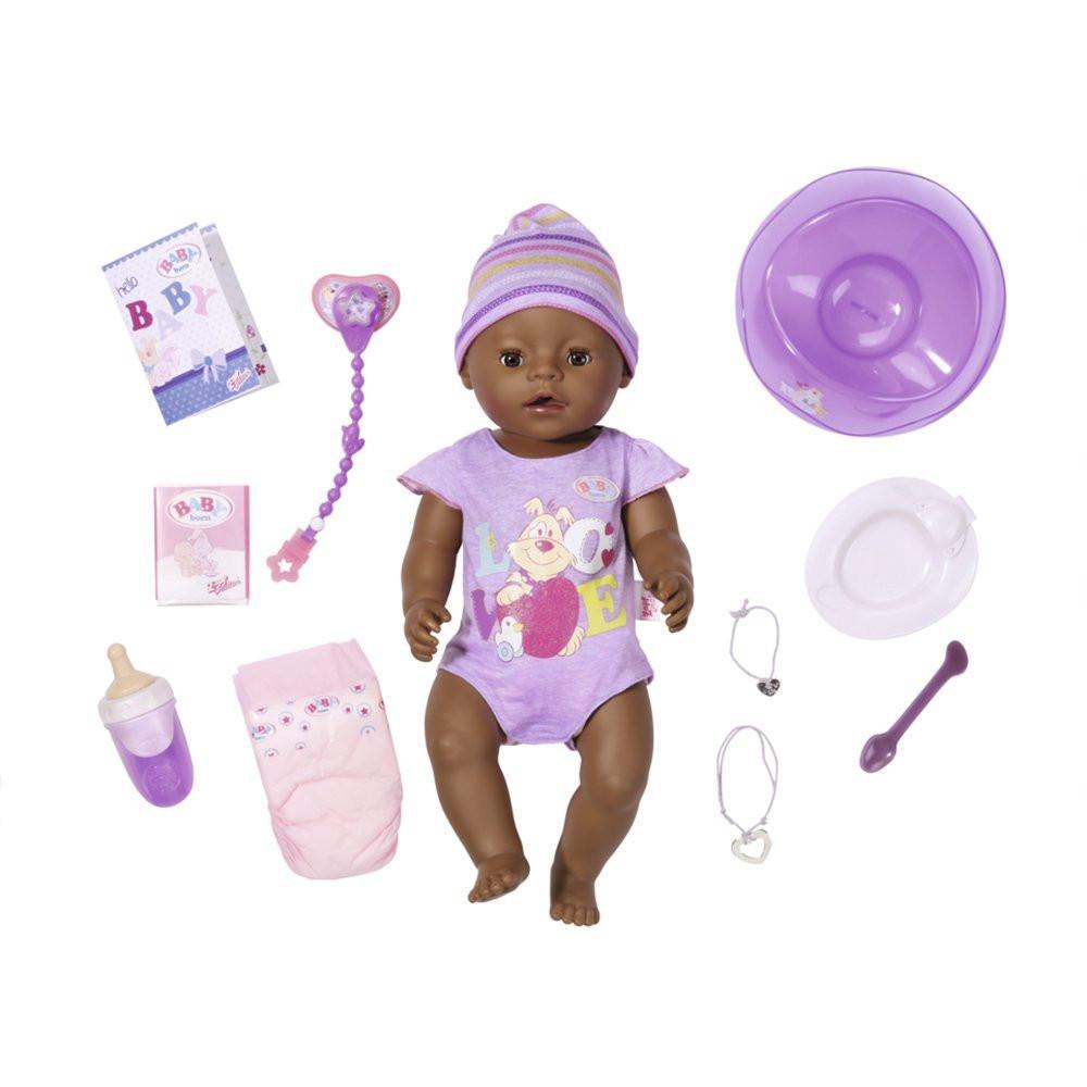Кукла пупс Baby Born Беби Борн этнический мулат оригинал Zapf Creation 822029