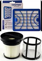Оригинал комплект Zelmer Solaris Twix 5500 и Clarris Twix 2750 фильтры для пылесоса с контейнером сбора пыли
