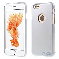Чехол Mercury Jelly Metal Series Apple iPhone 6, Apple iPhone 6S Silver