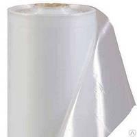 Плёнка белая полиэтиленовая, рукав, 130 мкн