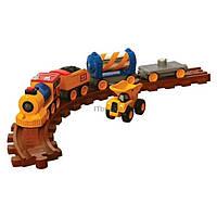 Железная дорога Toy State CAT со светом и звуком (80408)