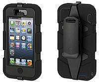Чехол Griffin Survivor Series Apple iPhone 5, iPhone 5S, iPhone SE Black (GB35677)