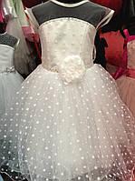 Нарядное детское платье для девочки Цветочек 3311