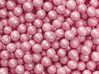 Декоративные жемчужины - Розовые Ø6 - 1 кг