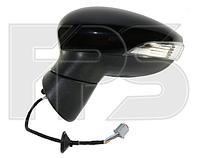 Зеркало правое электро асферическое складывающееся с обогревом грунт 8pin с указателем поворота без подсветки