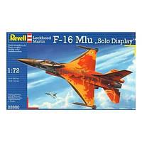 Сборная модель Revell Истребитель F-16 Mlu Solo Display Klu (3980)