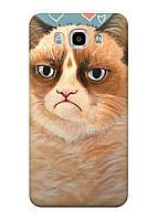 Чехол Samsung J5-J510 (2016 ) - Кот без вискаса