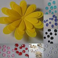 "Наклейки  ""Цветы"" 3 цвета."