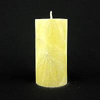 Свеча из пальмового воска, желтая h 110, Ø 55 мм