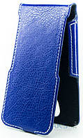 Чехол Status Side Flip Series Doogee Homtom HT7 Dark Blue