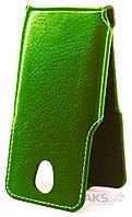 Чехол Status Side Flip Series Doogee Homtom HT7 Green