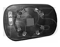Вкладыш зеркала правый с обогревом под круглое крепление Fiesta 2002-06