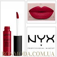 "NYX Soft Matte Lip Cream Матовая Помада ""Monte Carlo"" № 10, фото 1"