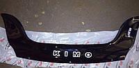Дефлектор капота CHERY Kimo (A1) / Чери Кимо с 2007 г.в.
