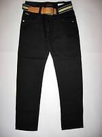 Черные брюки для мальчика р.134-164 (арт.88766)