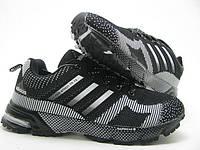 Кроссовки Adidas Marathon черные унисекс