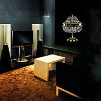 Настастольные лампы и люстры хрустальные ArtGlass