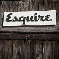Вывеска Esquire