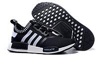 Мужские кроссовки Adidas nmd runner black, фото 1